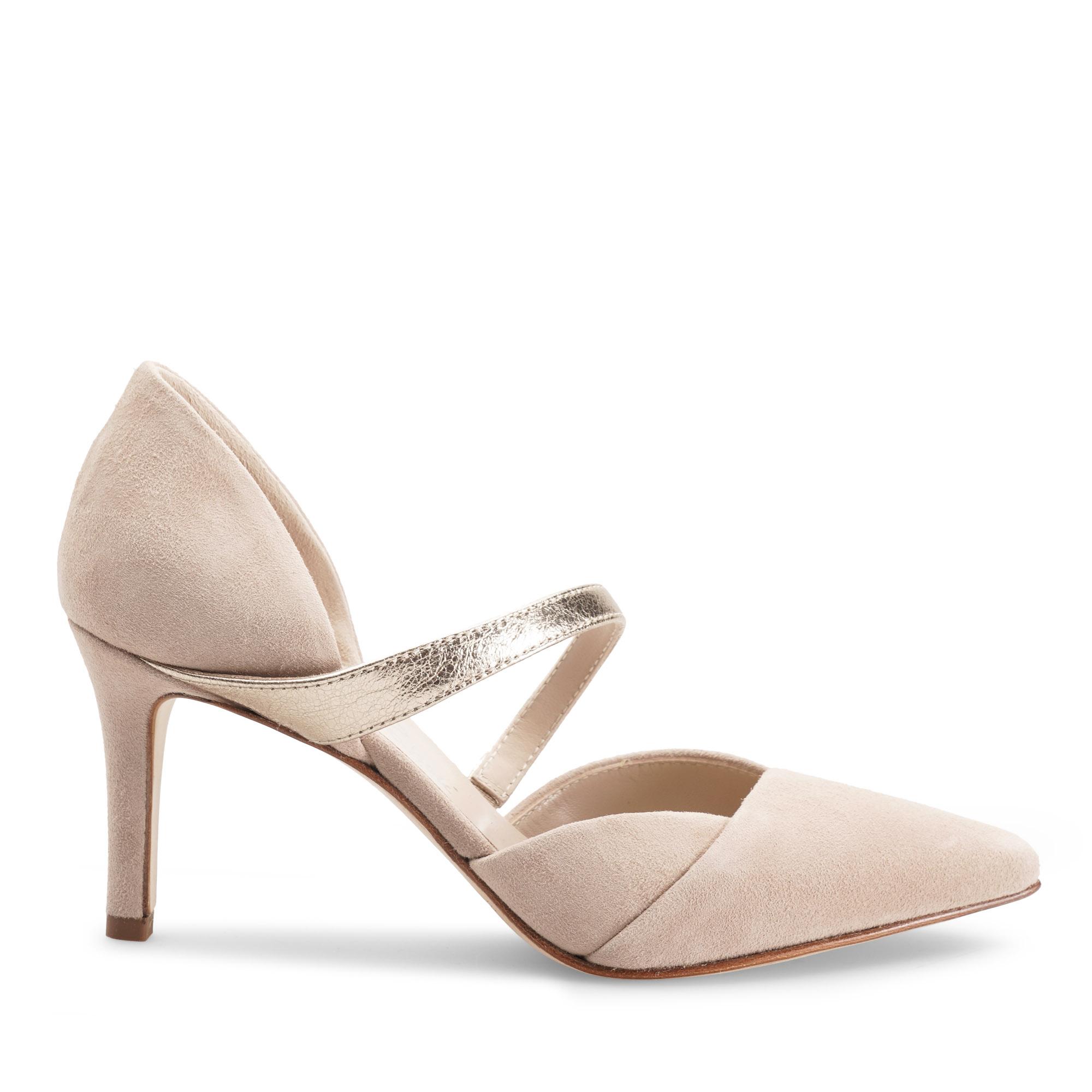 decolletè-scarpa-donna-camoscio-beige-laminato-platino-emanuela-passeri-heels-shoes-spring-summer-2021