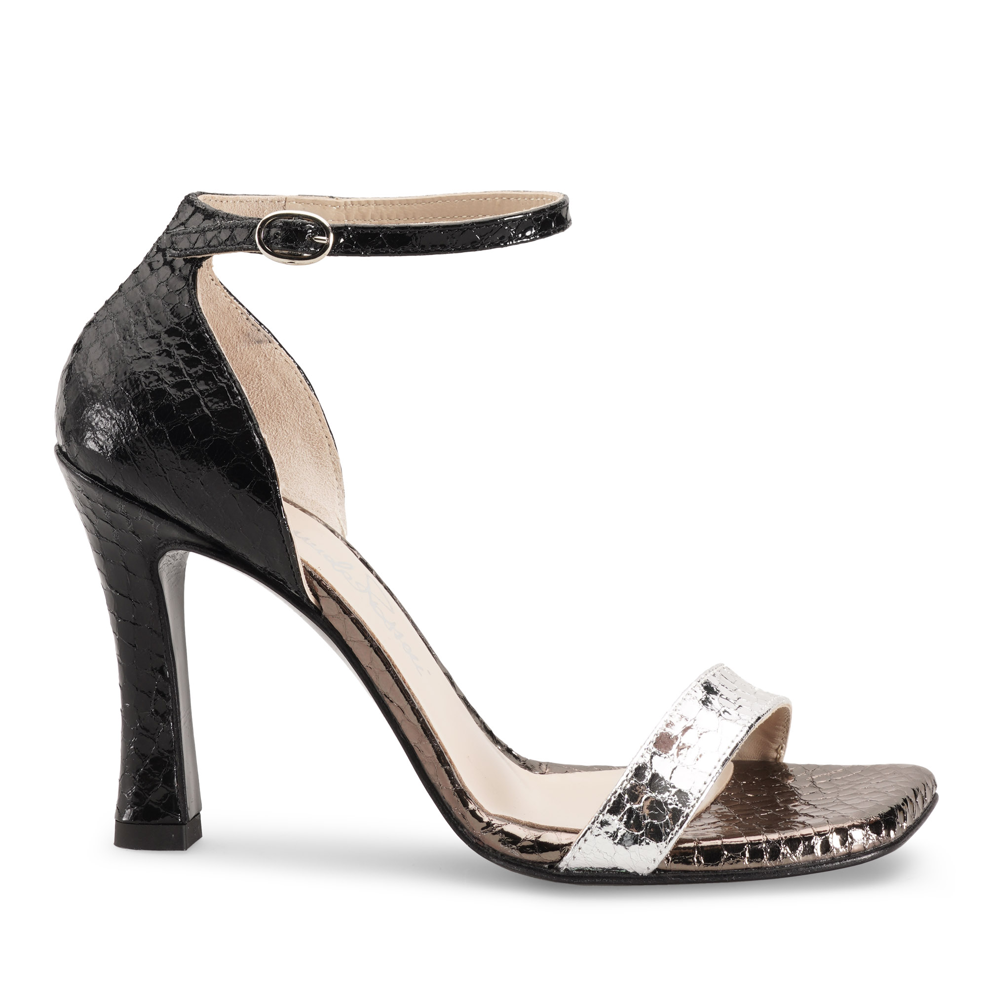 sandalo-donna-laminato-pitone-nero-argento-emanuela-passeri-shoes-hells-spring-summer-2021