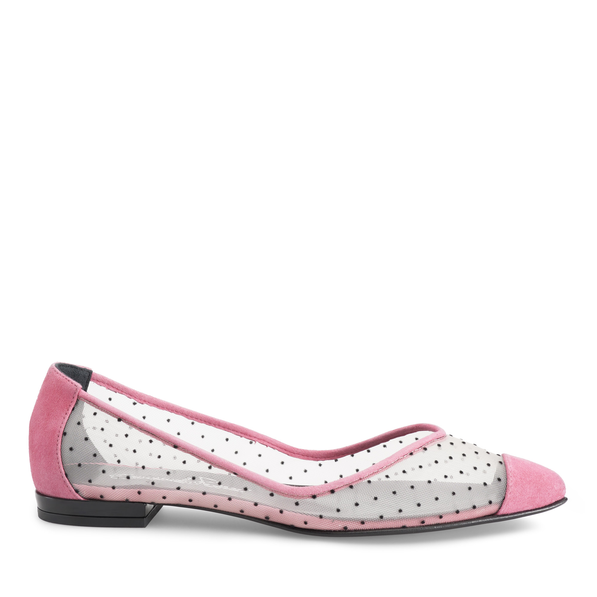 ballerina-donna-camoscio-rete-pois-rosa-fuxia-emanuela-passeri-shoes-heels-spring-summer-2021