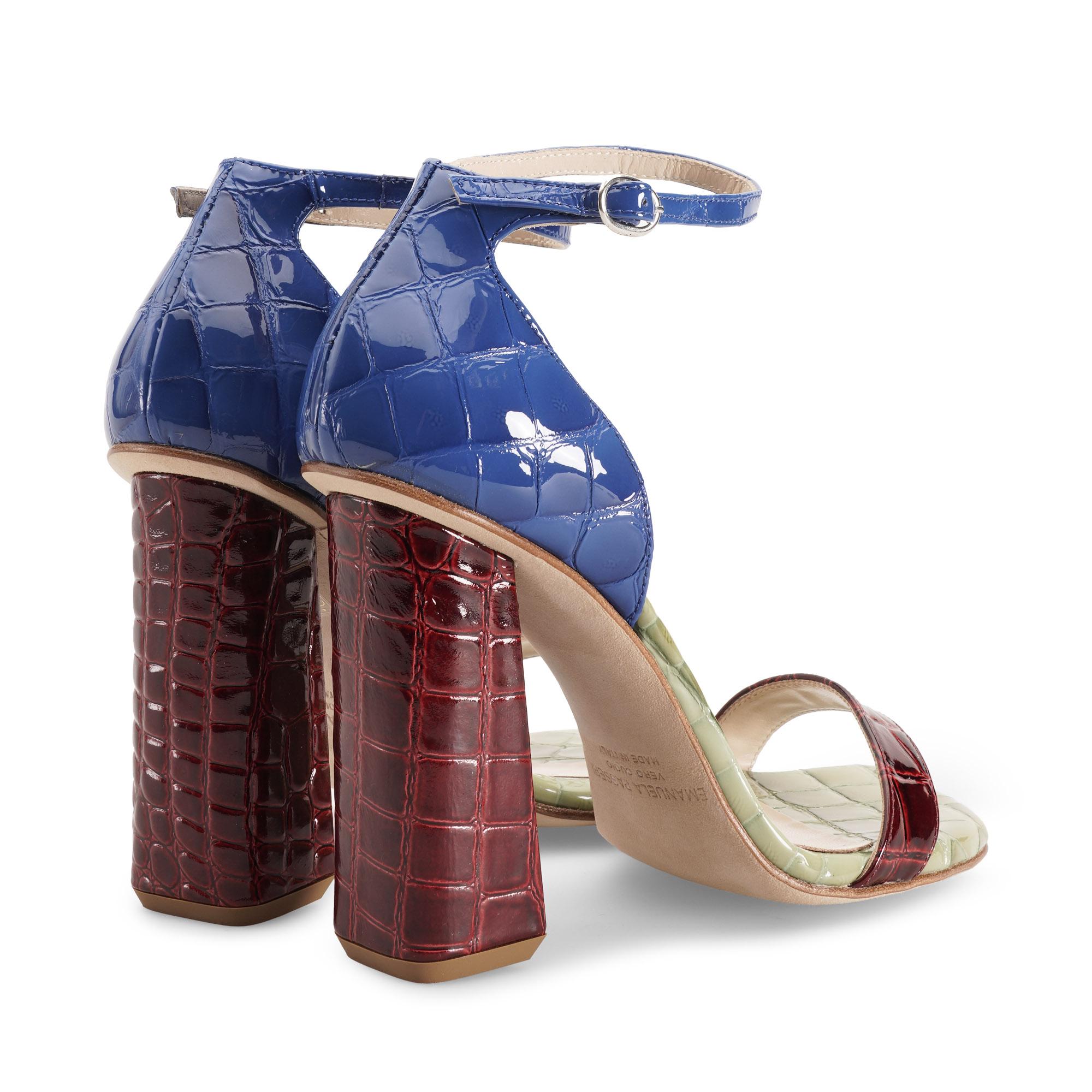 sandalo-donna-cocco-vernice-blu-verde-rosso-emanuela-passeri-heels-shoes-spring-summer-2021
